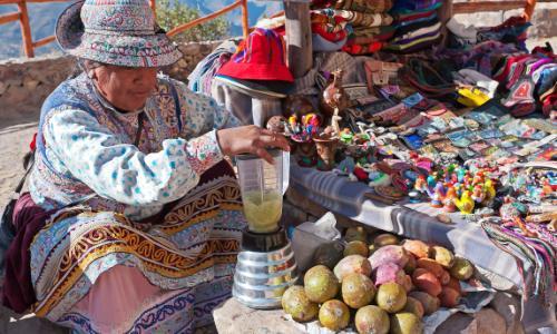 напиток индейцев Перу