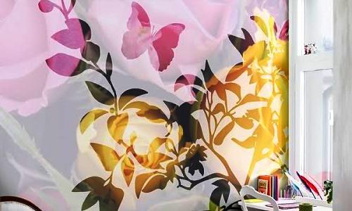изображение цветов в интерьере