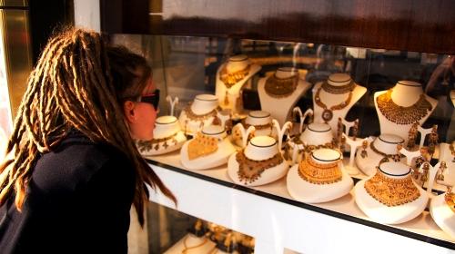покупка золотых украшений