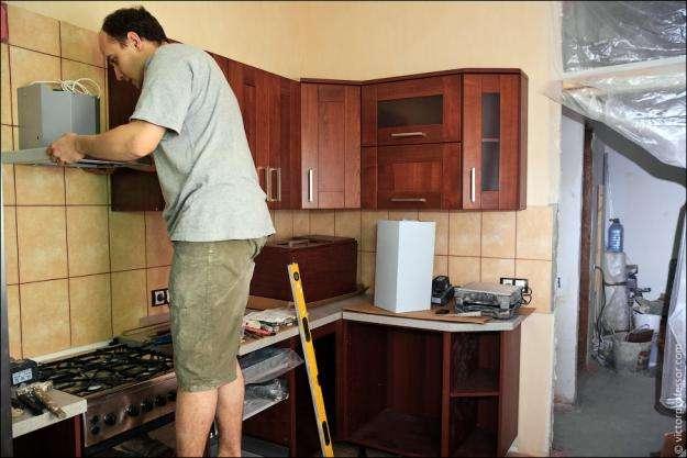 Самый дешевый ремонт кухни своими руками