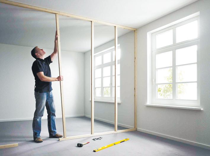 Как сделать стену межкомнатную